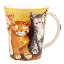 Alex Clark Fine Bone China Flirt Mug - Cats - Rodger, Dodger & Tinkerbell