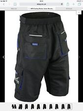 Men's Cycling Shorts with Detachable Liner