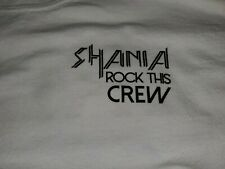Shania Twain Rock This Country Tour Crew Shirt Large
