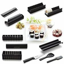 Sushi Making Kit Sushi Bazooka Rolling Rice Maker Roller Chef DIY Set 10 Pieces