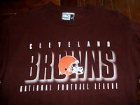 Cleveland Browns PUMA Medium T-Shirt National Football League 100% Cotton