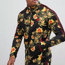 Nike N98 'Khokhloma' Floral Tribute Jacket 909242-719 Black/Red/Yellow Size XS