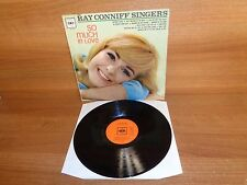THE RAY CONIFF SINGERS : SO MUCH IN LOVE : Vinyl Album : CBS : BPG 62103