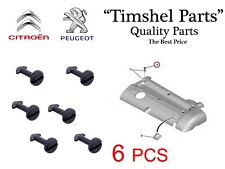 6X For Peugeot 206 306 307 406 Citroen 1.8 2.0 16V Top Engine Cover Clip Partner