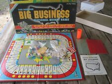 Vintage 1959 Big Business Board Game Transogram Co. Money Family Real Estate