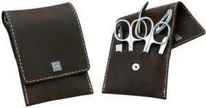 Becker-Manicure Erbe Solingen Manicure Set Case Men's Leather Nail Nippers