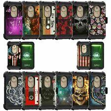 For Motorola Moto G7 Play XT1952 Triple Layer Case - Skull Designs