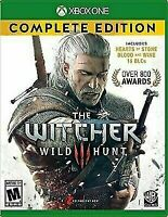 The Witcher 3 III: Wild Hunt Game of the Year Edition *New* (Xbox One, 2016)