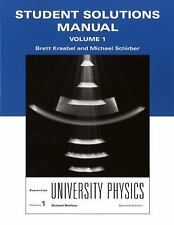 Student Solutions Manual for Essential University Physics, Volume 1 by Wolfson,