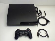 !!! PLAYSTATION PS3 Slim Konsole CECH-3012A UK+ Controller V4.60 GUT !!!