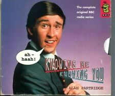 KNOWING ME, KNOWING YOU WITH ALAN PARTRIDGE - AUDIO CD- ORIGINAL RADIO SERIES