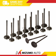 Intake Exhaust Valves Fit 99-11 Subaru Forester Impreza Legacy 2.5L SOHC EJ25
