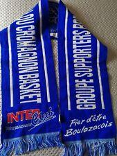 superbe écharpe supporter BBD boulazac basket ball   FRANCE