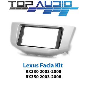 Lexus RX330 RX350 radio Double 2 Din fascia dash panel facia kit plate