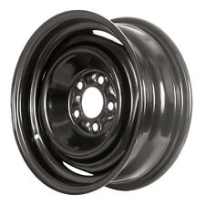 00895 Refinished Ford Mustang 1969-1972 15 inch Black Steel Wheel, Rim