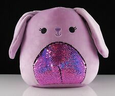 "New 9.5"" 2020 Squishmallows Plush Animal Kellytoy - Bubbles the Bunny w/ Sequins"