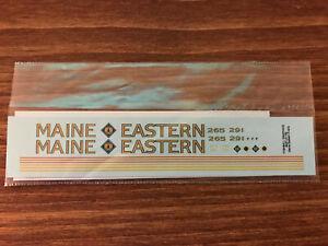 Highball Graphics LN-192 Maine Eastern F40PH Decal set