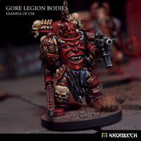 Kromlech Gore Legion Bodies (5) Brand New KRCB237