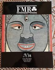 Rivista d'arte FMR (mensile di Franco Maria Ricci - n°38   1985   1/16