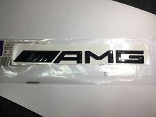 AMG Rear Boot Trunk Emblem Badge Gloss Black Sticker for Benz C CLA GLA S ~2013