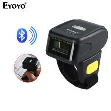 Handheld Bluetooth Ring Finger Barcode Scanner Reader For Android Smart phone F4