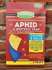 New listing Pest No More Aphid & Whiteflies 4 Traps catches and kills gnats, gypsy moths