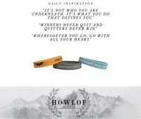 SALE!!!! 3 x Motivational Silicone Wristbands