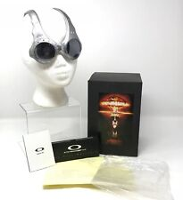 EXTREMELY RARE OAKLEY Over The Top FMJ+ Black Lens Sunglasses Complete Original