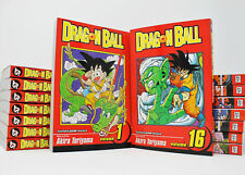 Dragon Ball Original MANGA Series Set of Books 1-16 by Akira Toriyama