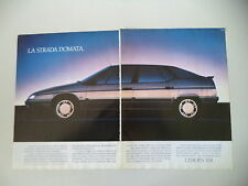 advertising Pubblicità 1990 CITROEN XM
