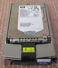 HP Wide Ultra320 SCSI 146.8Gb 15000 Rpm Hard Drive w/Caddy P/n 404670-006