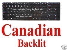 Toshiba Qosmio X70-A X75-A Keyboard - CA Canadian - Backlit