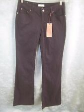 "SO Low Rise Flare Jeans Size 3 Long NWT Black 35"" Inseam"