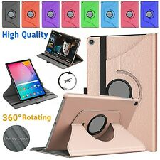 """For Samsung Galaxy Tab A 10.1"""" 2019 T510 Hard Shell Flip 360 Rotating Case Cover"""