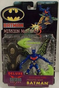 Freestyle Skate Batman Beyond With Batwing Assault Board Mission Masters Hasbro