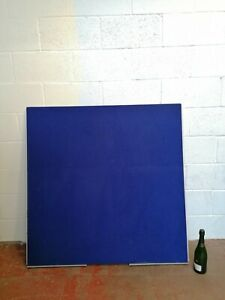Blue Felt Office Divider 120cm x 120cm Notice Board Free Manchester Delivery