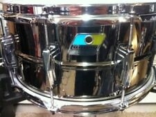 LUDWIG BLACK BEAUTY SUPRAPHONIC SNARE DRUM 6.5 X 14 BLUE OLIVE BADGE