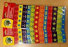 60 School Educational Supplies Incentive Reward Bracelet / Wristband - Emoji