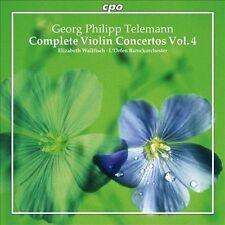 Telemann: Complete Violin Concertos, Vol. 4, New Music