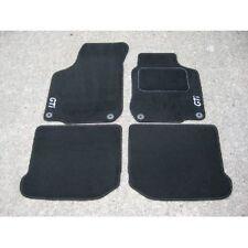Car Mats in Black to fit VW Golf Mk5 04-07 (Twist Fixings) + GTI Logos