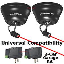 Pair Set Chamberlain Universal Laser Garage Parking Device Assist System CLULP1