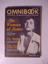 OMNIBOOK March 1950 ALBERTO MORAVIA DON FREEMAN +++