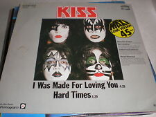 "Kiss 12"" I Was made For Lovin' You GERMAN"