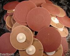 50pc 3 inch ROLL LOCK SANDING DISC 120 GRIT Madein GERMANY Heavy Duty roloc sand