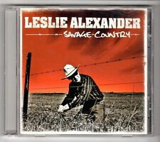 (GY333) Leslie Alexander, Savage Country - 2002 CD