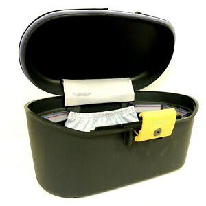 39cm Samsonite Beauty Travel Make Up Box Vintage 90's Hard Shell Case D27