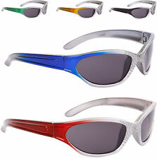 New Children's Sunglasses Kids 3 years Boys Girl Sport Sider Spidy Web Wrap 9051
