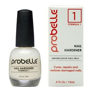 Probelle Formula 1 Nail Hardener, Nail Strengthener with Glossy Finishing