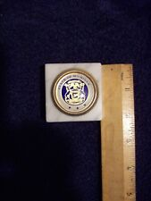 State Of Michigan Paperweight - State Seal