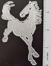 JUMPING RACING HORSE DIE, METAL DIE, COWBOY, COWGIRL,